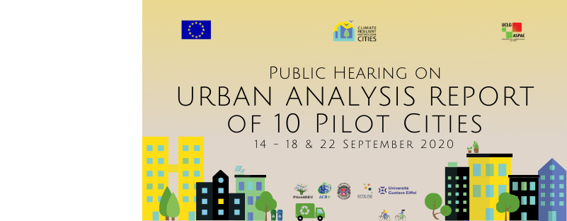 Public hearing on the urban analysis report